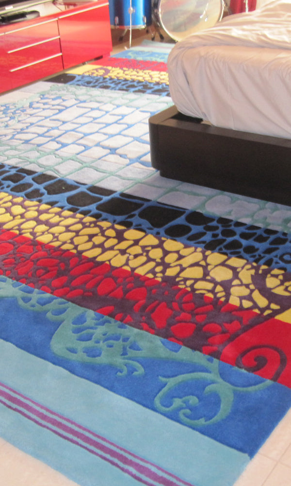 Hand Tufted Bedroom Carpet 0014
