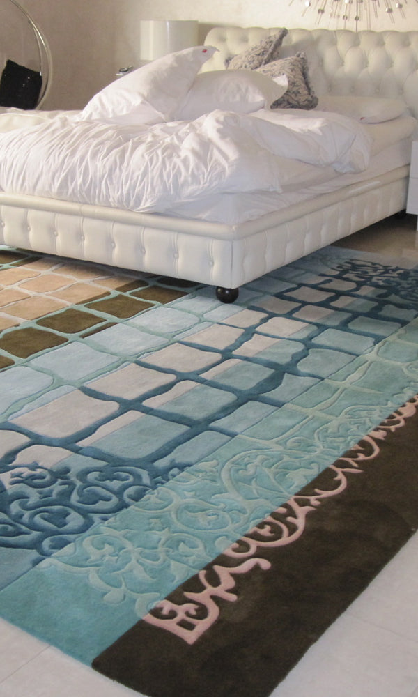 Hand Tufted Bedroom Carpet 0015