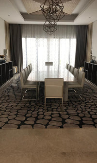 Hand Tufted Dinning Carpet 0001