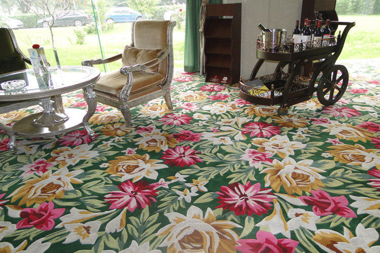 Hand Tufted Dinning Carpet 0008
