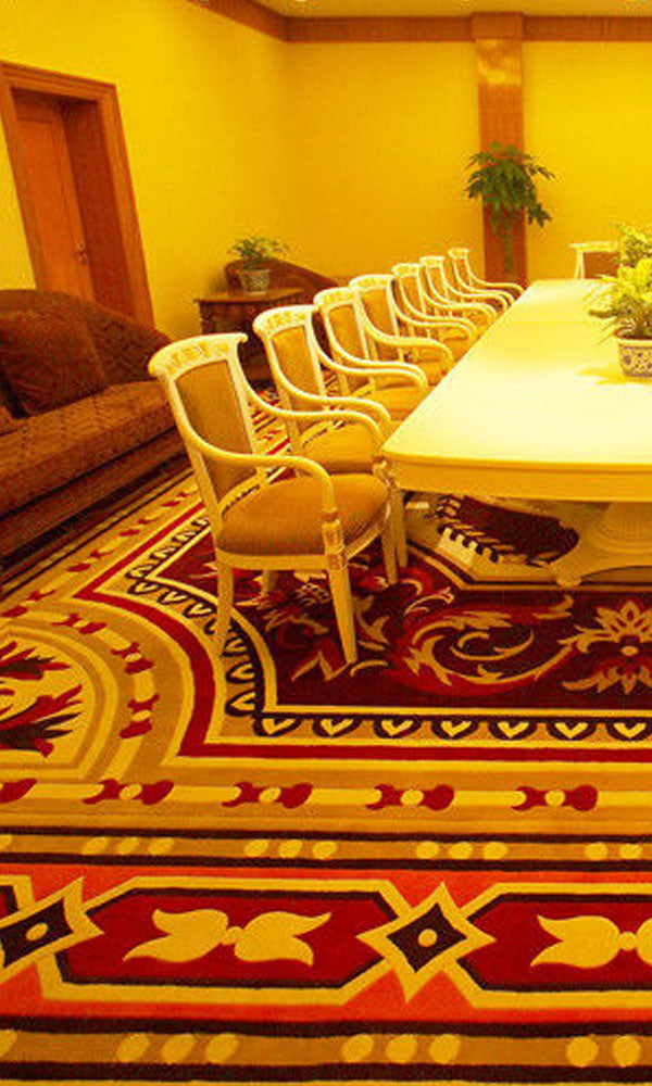 Hand Tufted Dinning Carpet 0009
