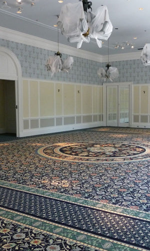 Hand Tufted Dinning Carpet 0015