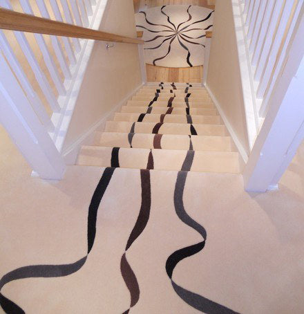 Hand Tufted Stairs Carpet 0002