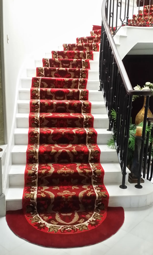 Hand Tufted Stairs Carpet 0003