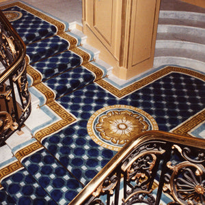 Hand Tufted Stairs Carpet 0005