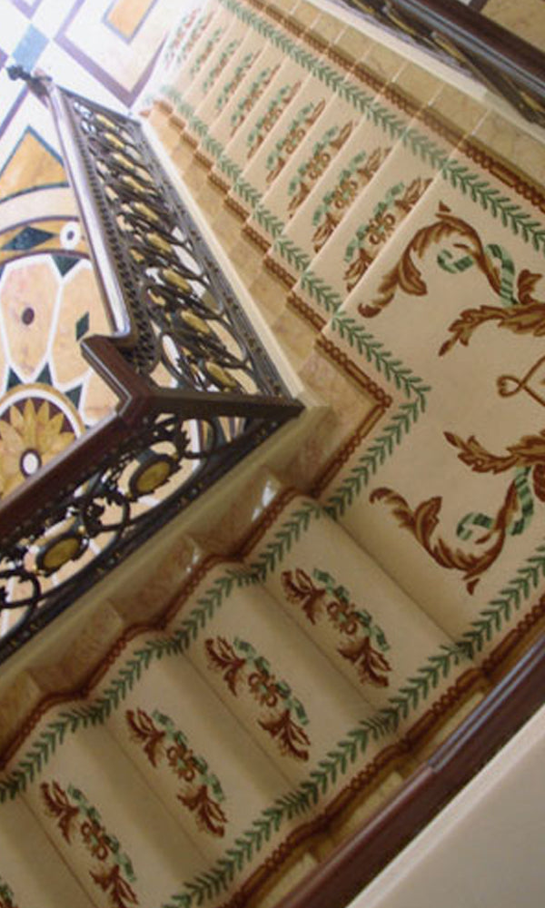 Hand Tufted Stairs Carpet 0006
