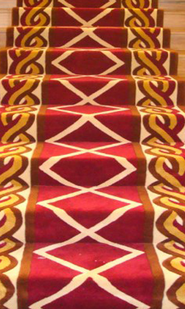 Hand Tufted Stairs Carpet 0008