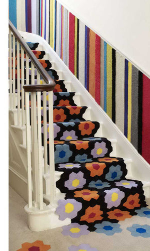 Hand Tufted Stairs Carpet 0009