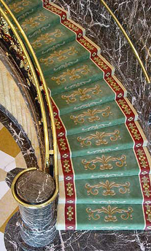 Hand Tufted Stairs Carpet 0010