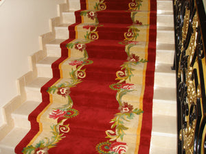 Hand Tufted Stairs Carpet 0011