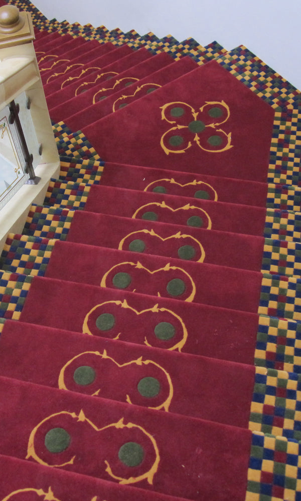 Hand Tufted Stairs Carpet 0012