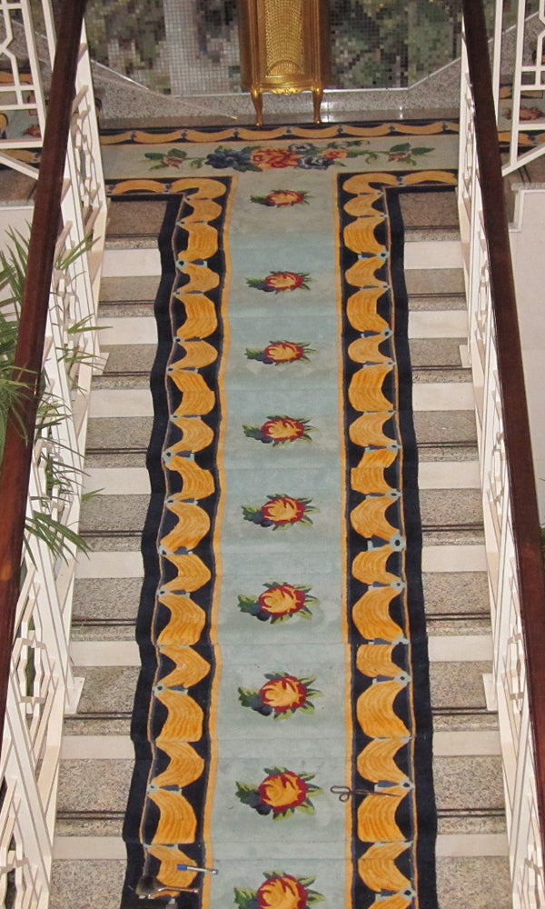 Hand Tufted Stairs Carpet 0013