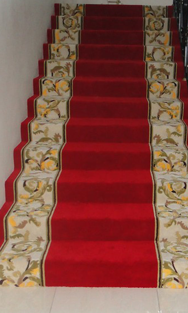 Hand Tufted Stairs Carpet 0015