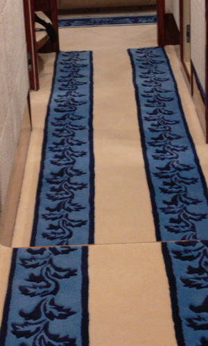 Hand Tufted Stairs Carpet 0016
