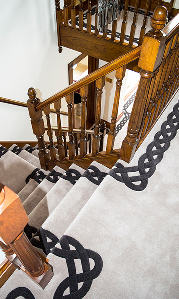 Hand Tufted Stairs Carpet 0019