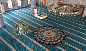 Axminster Mosque Carpet 0002