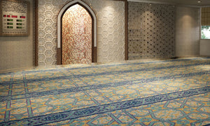 Axminster Mosque Carpet 0005