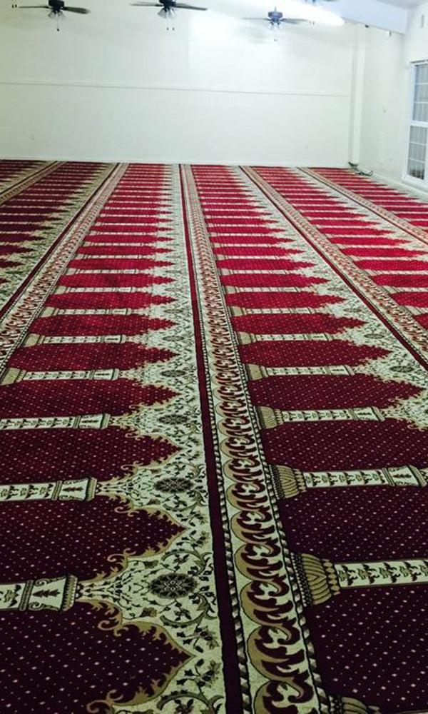 Axminster Mosque Carpet 0006