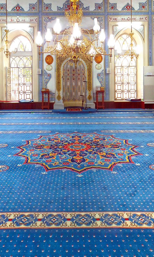 Axminster Mosque Carpet 0008