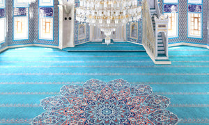 Axminster Mosque Carpet 0013