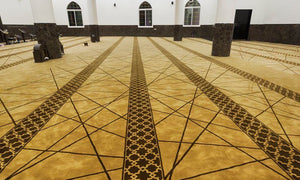 Axminster Mosque Carpet 0015
