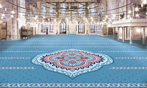 Axminster Mosque Carpet 0016