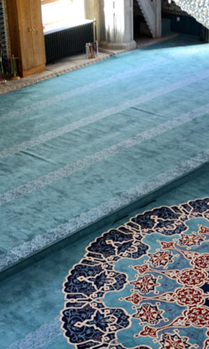 Axminster Mosque Carpet 0021