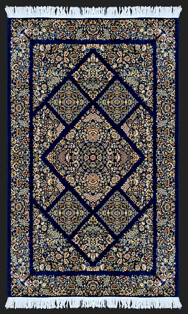 Versace Zarbaf Royal Blue Rug