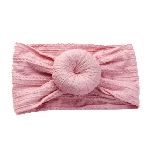 Bun Headband // Dusty Rose