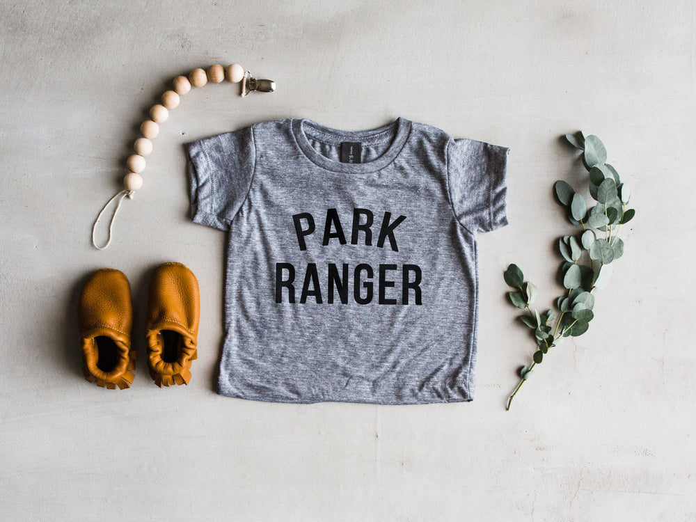 "Load image into Gallery viewer, ""Park Ranger"" Tee // Grey"