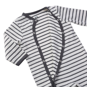 Load image into Gallery viewer, Footie Pajama // Stripe // 6-9 Month