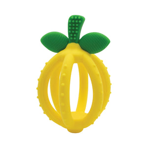 Teething Ball & Training Toothbrush // Lemon Drop