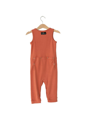 Organic Tank Jumpsuit with Explorer Back // Aragon