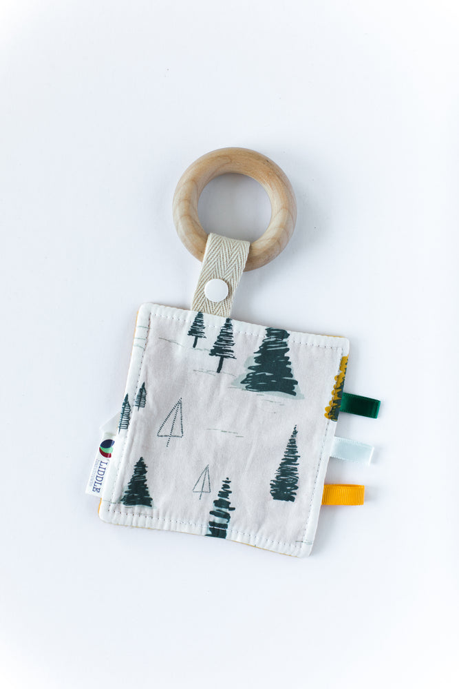 Pretty Pines Wooden Sensory Teether