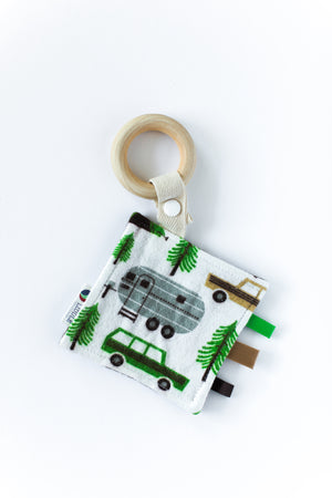 Retro Camping Wooden Sensory Teether