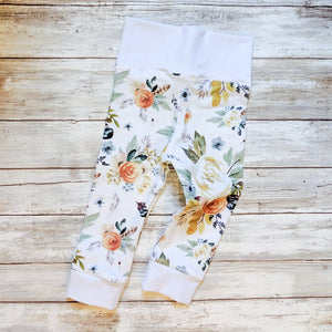 Boho Floral Leggings