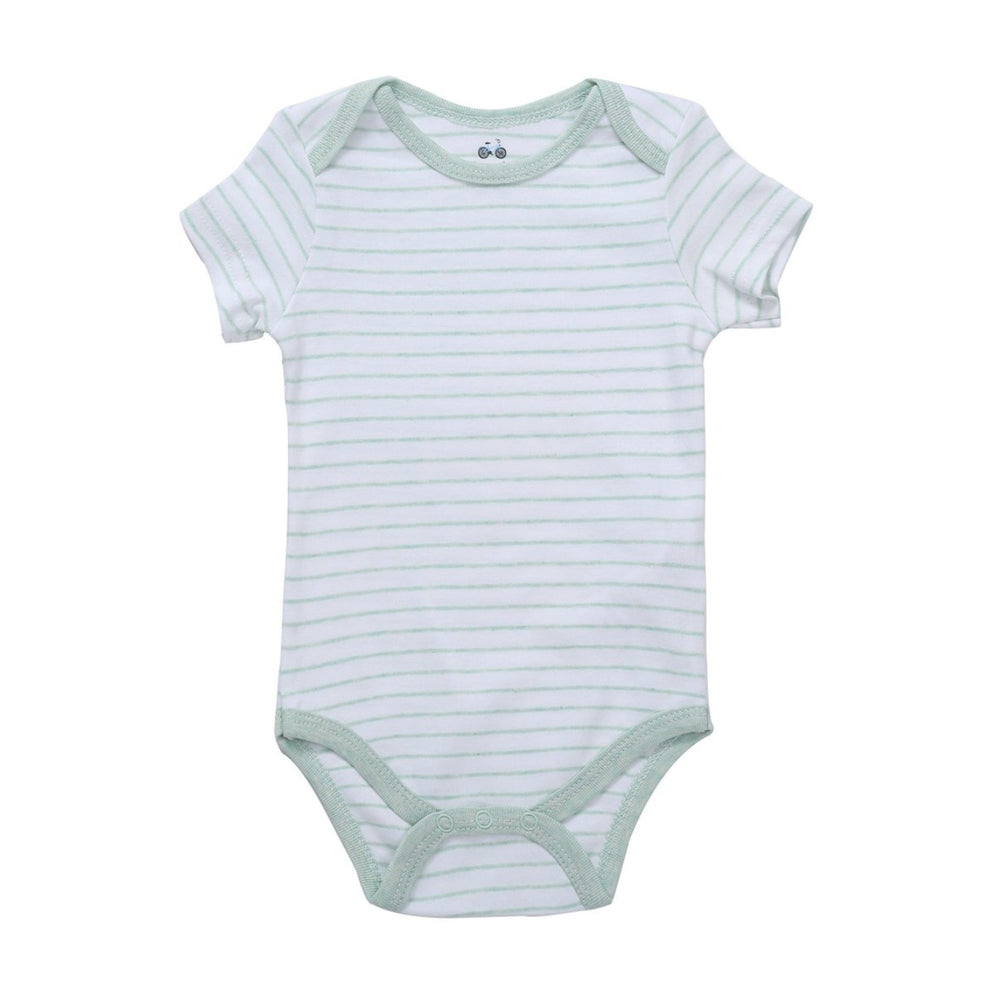 Bodysuit // Minted Stripe