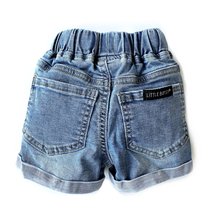Load image into Gallery viewer, Shorts // Distressed Denim