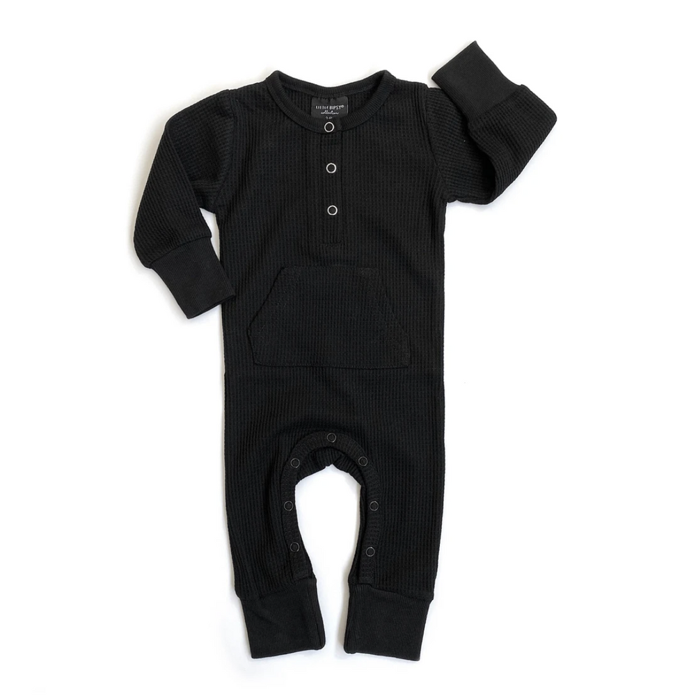 Thermal Romper // Black