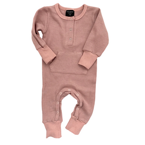 Load image into Gallery viewer, Thermal Romper // Mauve