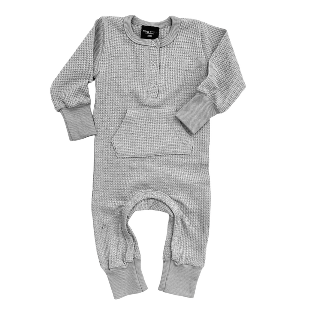 Thermal Romper // Grey