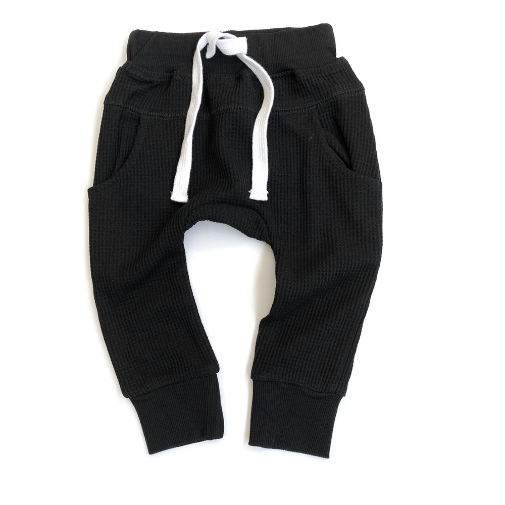 Thermal Joggers // Black