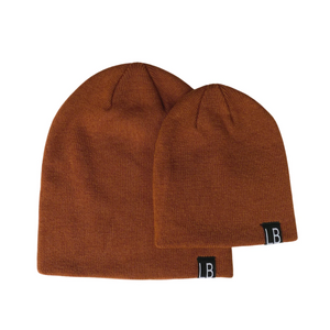 Load image into Gallery viewer, Knit Beanie // Rust