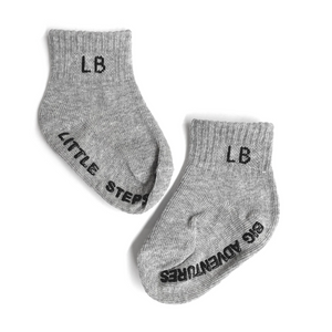 Load image into Gallery viewer, 3 Pack Socks // Grey