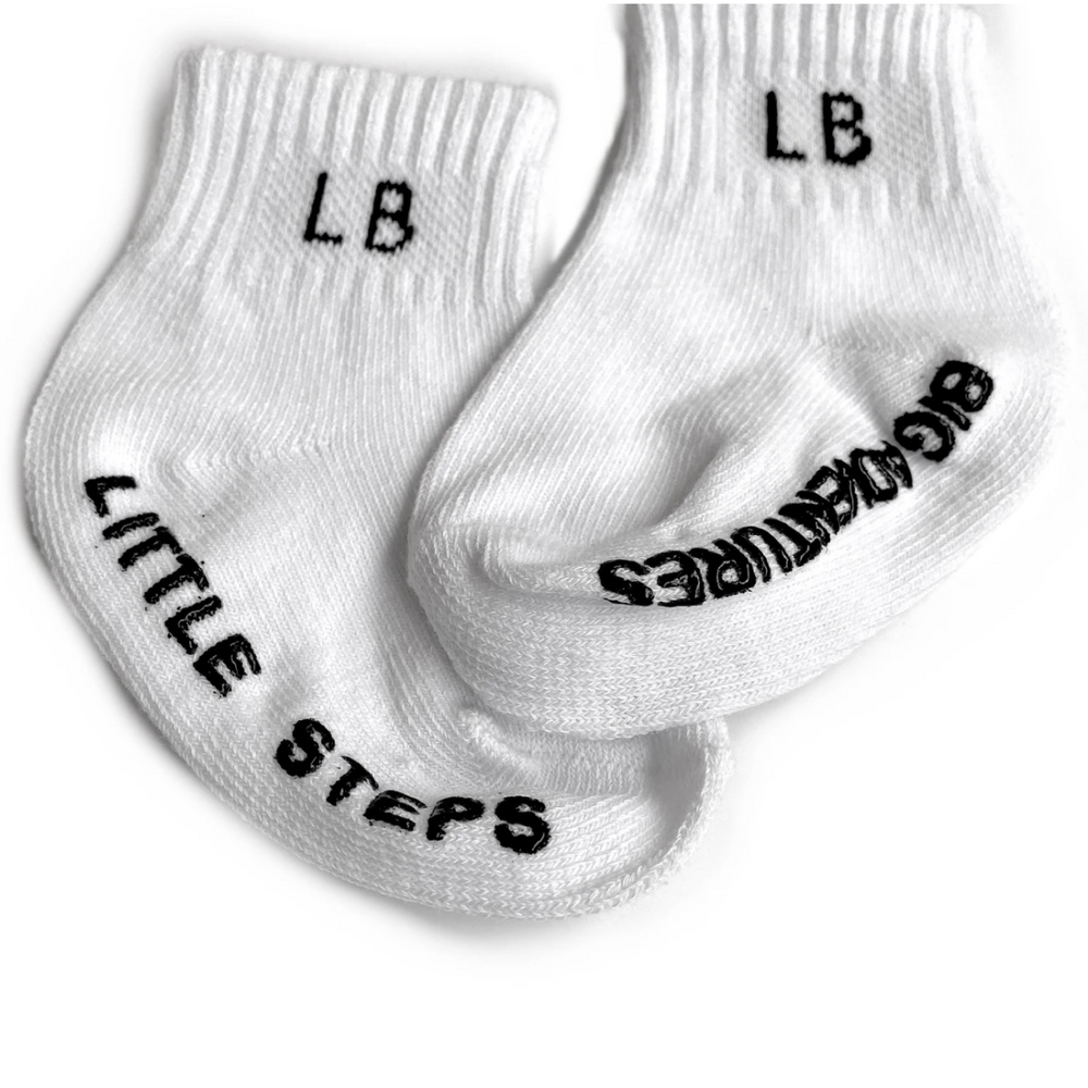 Load image into Gallery viewer, 3 Pack Socks // White