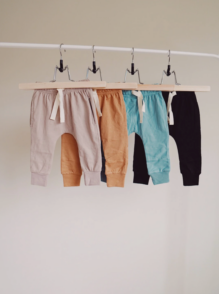 Brushed Cotton Joggers // Mushroom