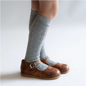 Load image into Gallery viewer, Knee High Socks // Grey