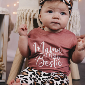 "Load image into Gallery viewer, ""Mama Is My Bestie""  // Mauve"