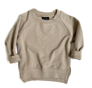 Pullover // Taupe