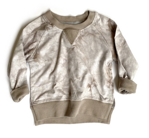 Load image into Gallery viewer, Tie Dye Pullover // Taupe